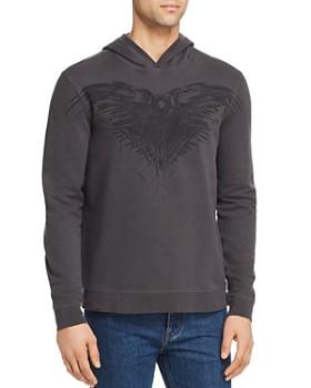 9aff92b50f6 John Varvatos Star USA - x Game of Thrones Three-Eyed Raven Hooded  Sweatshirt ...