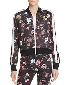 PAM & GELA - Fineline Floral Jacket