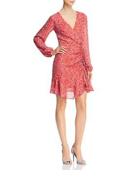 Adelyn Rae - April Ruffled Floral Dress