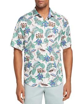Tommy Bahama - Cabana Club Short-Sleeve Printed Classic Fit Shirt