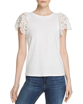 c4fea6d1 Generation Love - Sawyer Lace-Sleeve Top ...