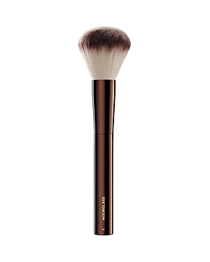 What It Is: A large domed shape is ideal for applying both loose and pressed powder. What It Does: - Features Peta-approved, high-grade, ultra-soft Taklon bristles - Weighted metal handles provide control for effortless blending and application - May be used to apply liquid, cream or powder products - Taklon is an excellent alternative for those who suffer from allergies to animal hair - Taklon is a more hygienic alternative to animal hair