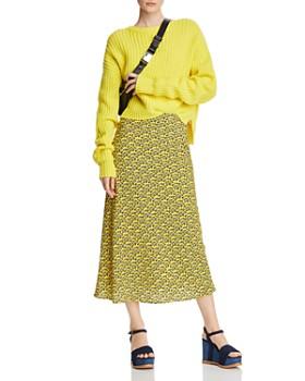 C/MEO Collective - Sanguine Floral Midi Skirt