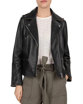f2114c41f3e8 Gerard Darel - Ornella Leather Moto Jacket ...