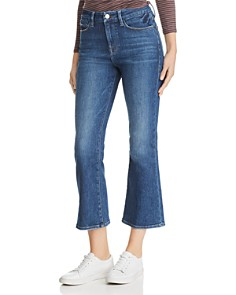 FRAME - Le Crop Mini Boot Jeans in Bestia - 100% Exclusive