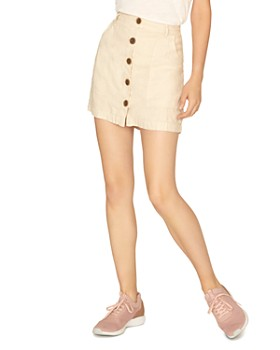 c90f637f3 Mini Skirts: Denim, Pleated, Leather & More - Bloomingdale's