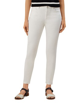HOBBS LONDON - Marianne Skinny Jeans in White