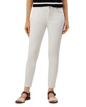 HOBBS LONDON - Marianne Skinny Jeans in White