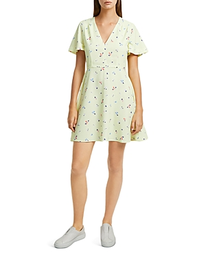 French Connection Dresses FLIPPY FLORAL A-LINE DRESS