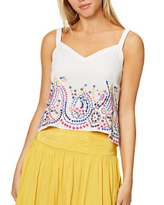 Ramy Brook - Margo Embroidered Top