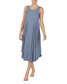 417a6602acbbc Donna Karan - Pleated Heathered Nightgown ...