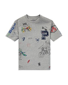 Ralph Lauren - Boys' Varsity Graphic Tee - Big Kid
