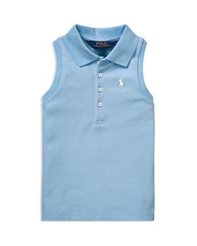 453e454be50 Ralph Lauren - Girls  Sleeveless Mesh Polo Shirt - Little Kid ...