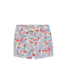 Ralph Lauren - Girls' Floral French Terry Shorts - Little Kid
