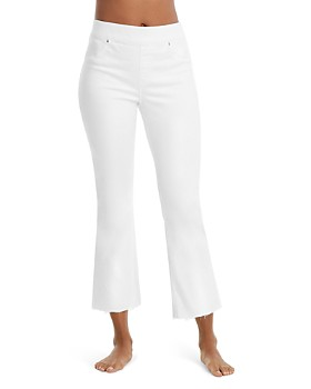 SPANX® - Cropped Flare Jean Leggings