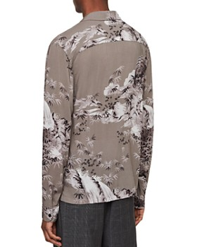 ALLSAINTS - Java Tiger Print Lightweight Slim Fit Shirt