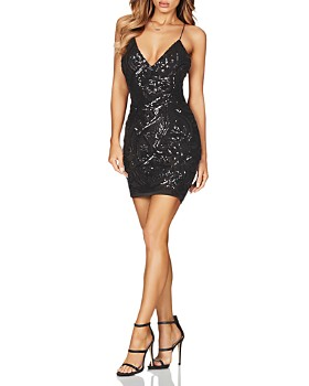 Nookie - Sensation Sequined Mini Dress