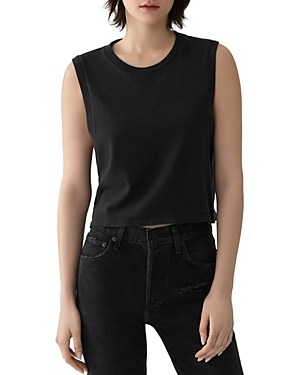 Agolde Tops CROPPED MUSCLE TEE