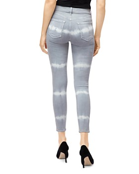 J Brand - Coated Alana High-Rise Jeans in Georgetown Shockwave