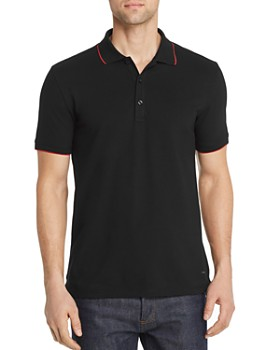 HUGO - Dinoso Tipped Regular Fit Polo Shirt