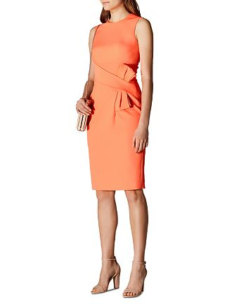 KAREN MILLEN - Bow Detail Sheath Dress