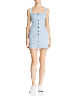DL1961 - Rhea Denim Mini Dress in Thebes