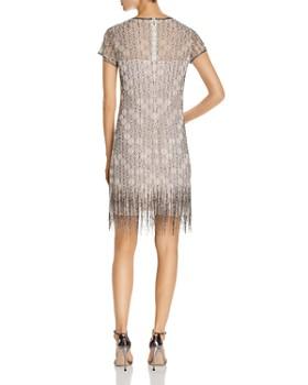 Elie Tahari - Winter Beaded Fringe Dress