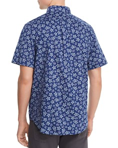 Vineyard Vines - Murray Short-Sleeve Floral-Print Slim Fit Button-Down Shirt