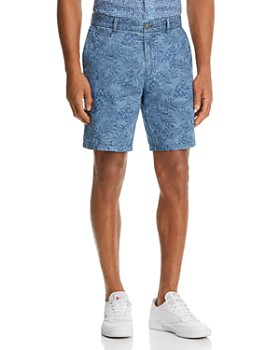 Johnnie-O - Runaway Frond-Jacquard Regular Fit Shorts