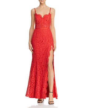 Fame and Partners - Kirsten Lace Bustier Gown