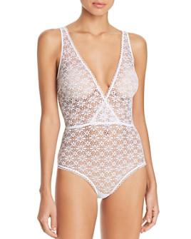 Honeydew - Samantha Sheer Lace Bodysuit