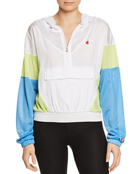 Champion - Color-Block Hooded Jacket