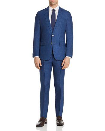 BOSS - Helford/Gander Linen Solid Slim Fit Suit
