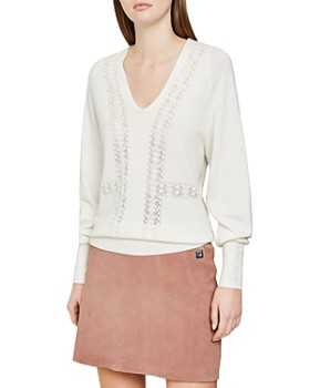REISS - Inari Open-Stitched Sweater