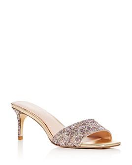 Rachel Zoe - Women's Samantha Kitten-Heel Sandals