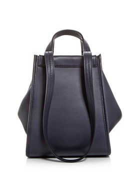 Max Mara - Small Reversible Leather & Cashmere Tote