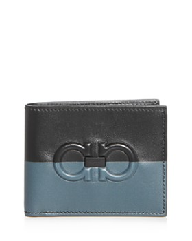 Salvatore Ferragamo - Firenze Color-Block Leather Bi-Fold Wallet