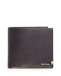 Paul Smith - Stitch Tab Leather Bi-Fold Wallet