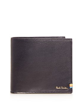 Paul Smith - Stitch Tab Leather Bi-Fold Wallet