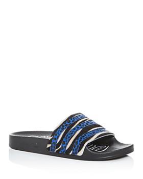 fe2fc695b0 Adidas - Women's Adilette Striped Slide Sandals ...