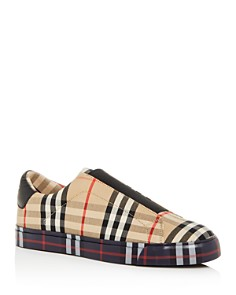 Burberry - Women's Markham Vintage Check Low-Top Sneakers