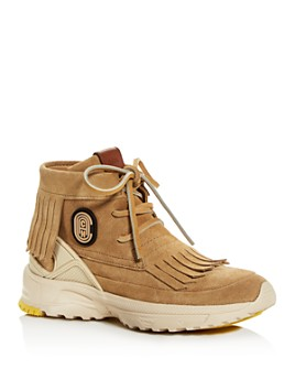 COACH - Women's Moc Fringe High-Top Sneakers