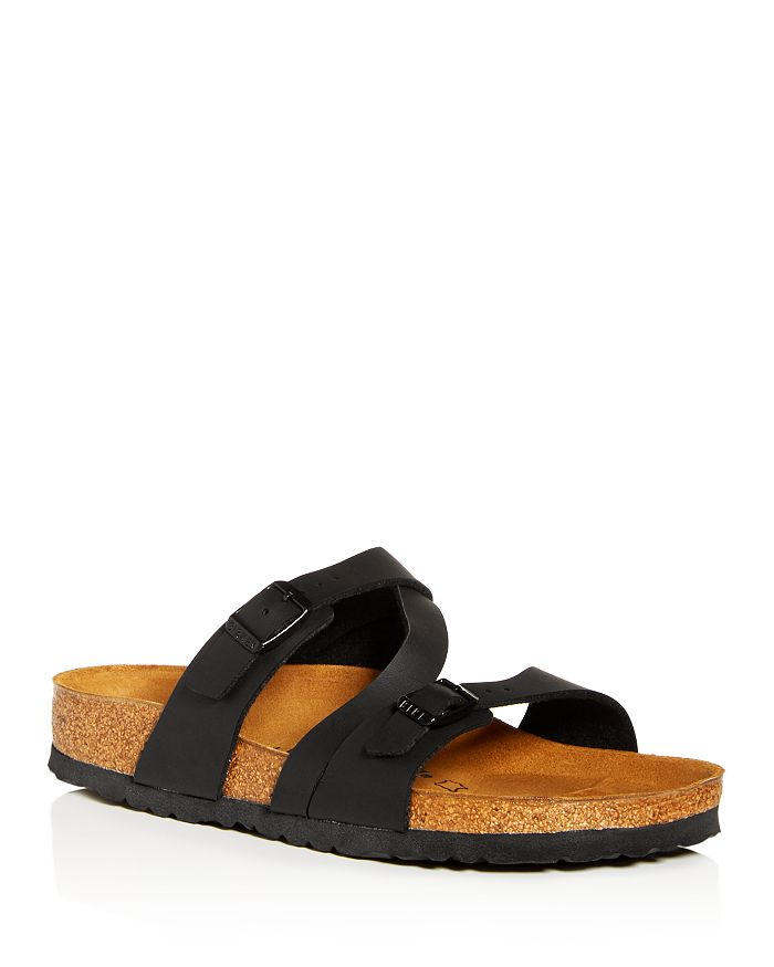 Birkenstock Women's Salina Slide Sandals In Black