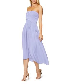 Ramy Brook - Ava Pleat-Front Dress