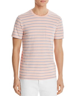 Pacific & Park - Striped Pocket Tee