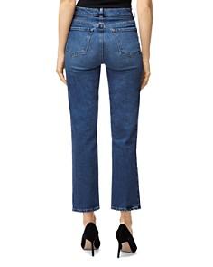 J Brand - Jules High-Rise Straight Leg Jeans in Metropole