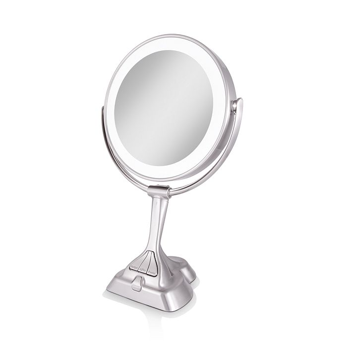 LED Variable Light Vanity Mirror with Smart Dimmer™ 1X/10X Magnification