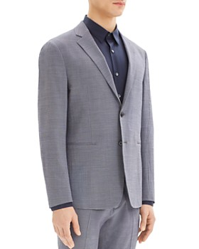Theory - Clinton Micro-Houndstooth Regular Fit Blazer
