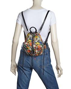 Rebecca Minkoff - Julian Mini Floral Canvas Backpack
