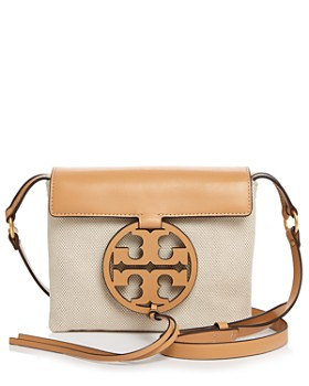 Tory Burch - Miller Canvas & Leather Crossbody
